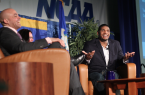 Michael Sam speaks at Quinnipiac University | Photo: Rebecca Castagna