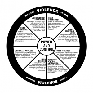 The Power and Control wheel as described by The Duluth Model.