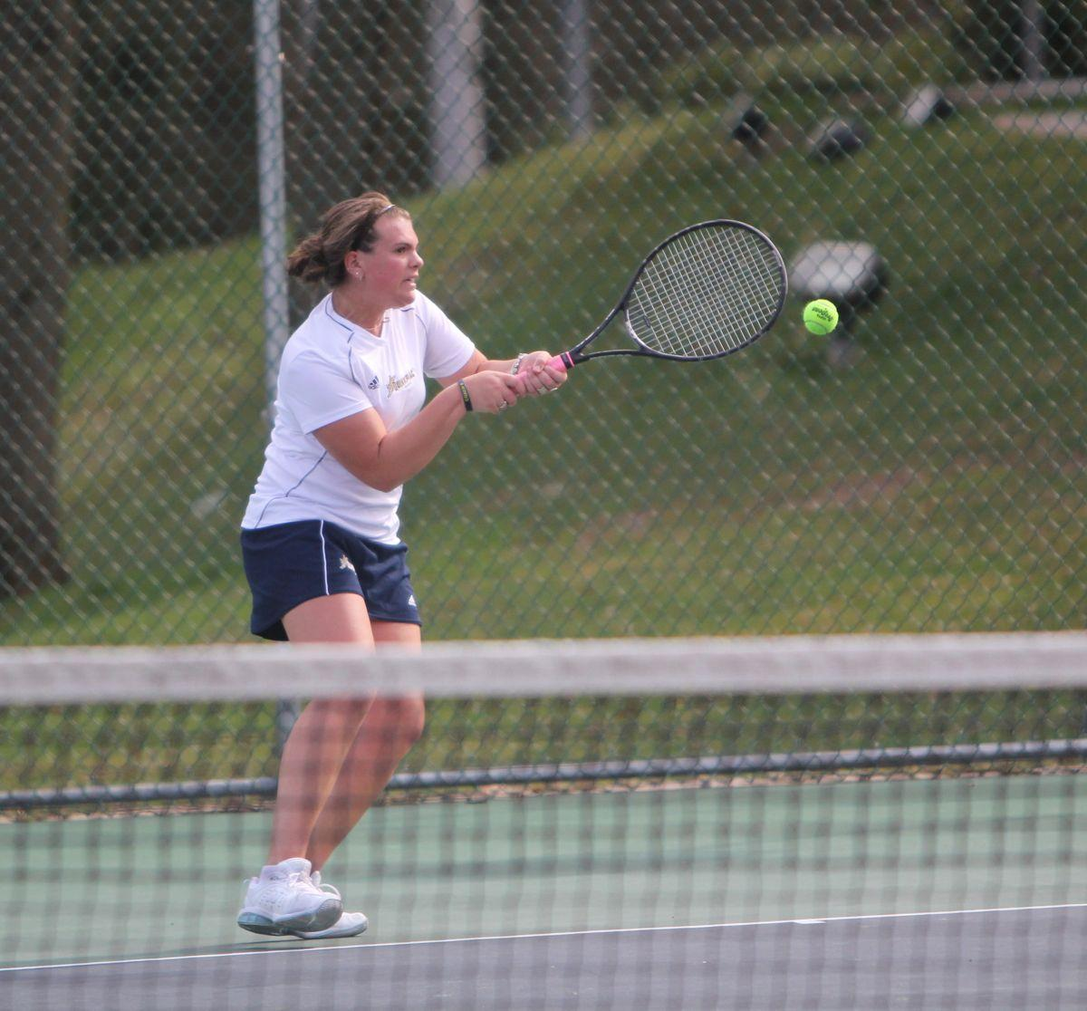 Bobcats take win in Flight B Doubles