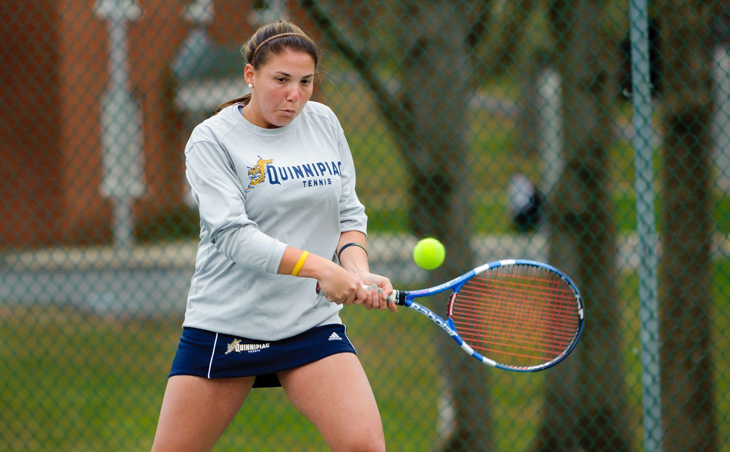 Bobcats fall in Singles Semifinals at QU Invite