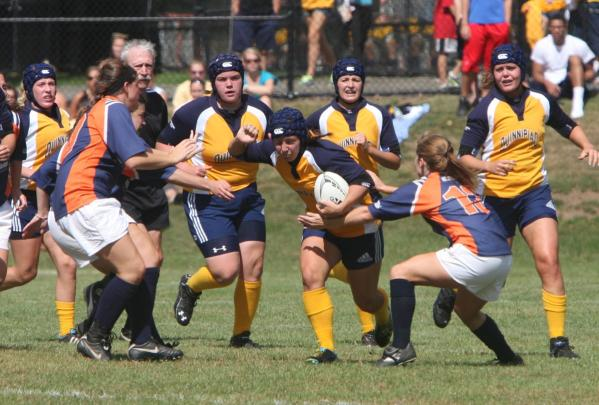Women's rugby sets new records in win