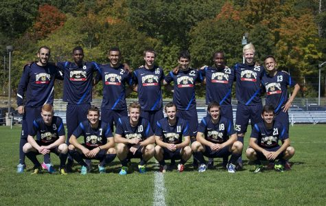 Borja Angoitia, James Doig and 11 other men's soccer players adjust to life in America