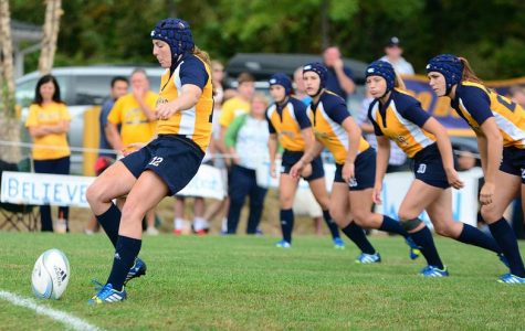 Quinnipiac women's rugby defeats UMass 94-5