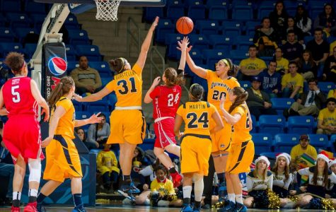 Women's basketball falls to Marist in first MAAC game