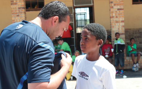 Common ground: Soccer players and coaches travel to South Africa to share the game