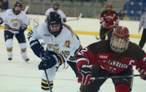 Women's ice hockey advances to ECAC semifinals