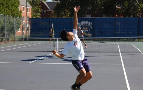 Men's and women's tennis look strong in win over Hartford