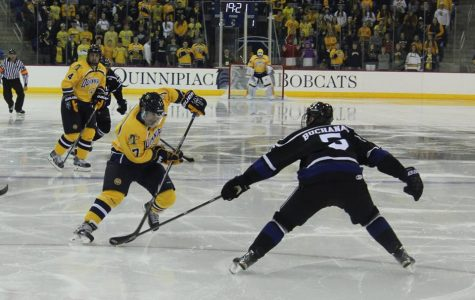 Quinnipiac opens season with 5-3 win over Bentley