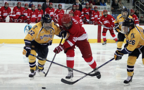 Cornell coach rips Rand Pecknold after a 1-0 loss to Quinnipiac