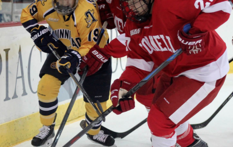 Quinnipiac men's ice hockey drops close contest to Cornell, 2-1