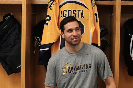 The Graduate: Agosta plays his final season as a Bobcat