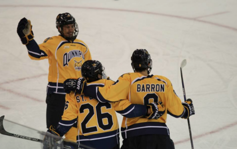 Men's hockey opens new year at home with 4-2 win