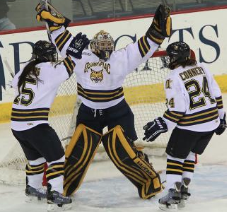 Bobcats advance to ECAC semifinals with 2-0 win over Tigers