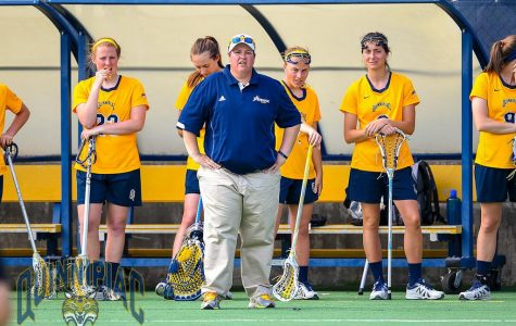 Caro out as women's lacrosse coach