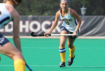 Bobcats come back, field hockey defeats Holy Cross