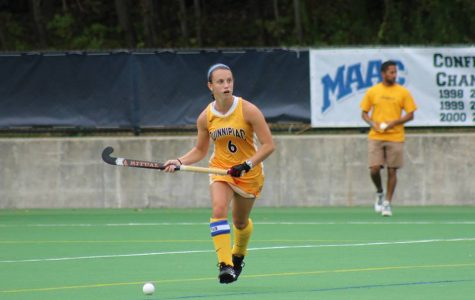 Field hockey shuts out Bryant 4-0