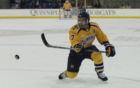 Men's hockey drops Harvard 4-1