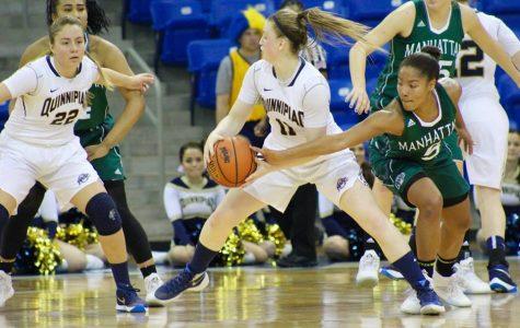 Women's basketball falls to Manhattan 52-42