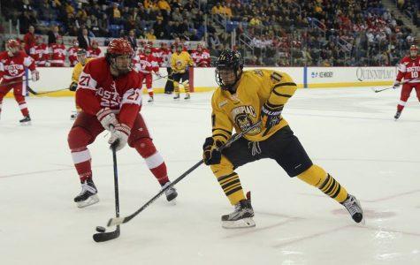 Snapped Streak: Boston University beats men's ice hockey 4-1