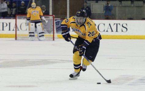 Craig Martin scores first collegiate goal, men's ice hockey advances to ECAC championship
