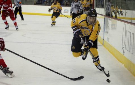 Cornell men's ice hockey defeats Quinnipiac to tie series