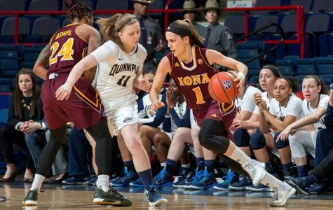 Women's basketball team falls to Iona in MAAC final