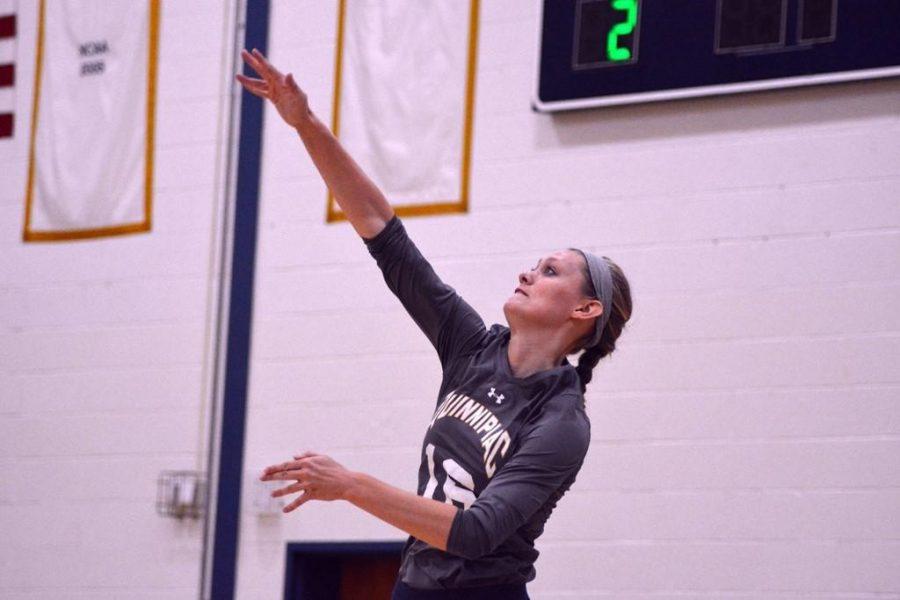 Volleyball extends winning streak to three against Siena, 3-0