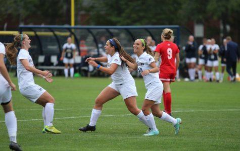 Women's soccer glides past Marist 3-0