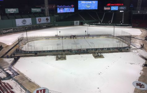 Frozen Fenway: Boston College defeats Harvard 3-1 in rain-filled women's hockey spectacle