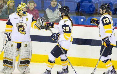 Quinnipiac women's ice hockey defeats Dartmouth 3-1