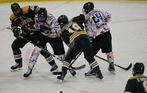 Quinnipiac men's ice hockey falls to Clarkson 4-2