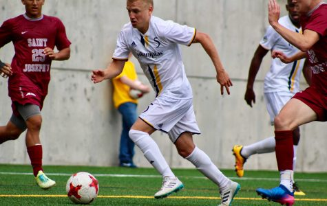 Men's soccer drops to Fairfield in first conference match, 1-0