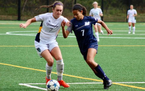 Women's soccer falls to rival Monmouth, 2-0