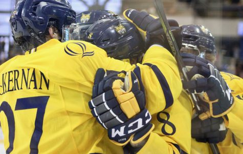 Men's ice hockey to face off with Vermont Saturday