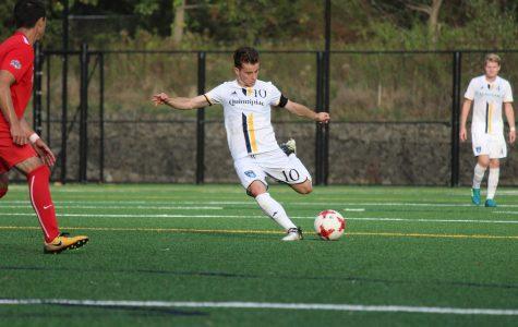 Men's soccer to face Saint Peter's in final game of regular season Wednesday