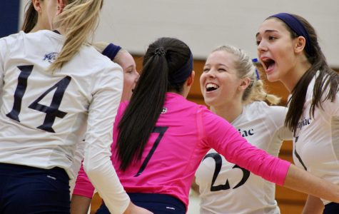 Volleyball beats Canisius on Senior Day 3-1, clinches MAAC Tournament birth