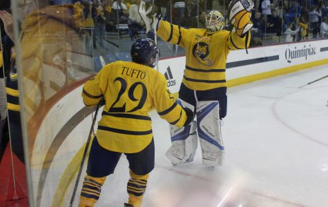 Men's hockey to open conference play against Cornell Friday