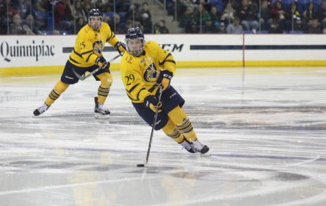 Men's hockey falls to Harvard, 6-2