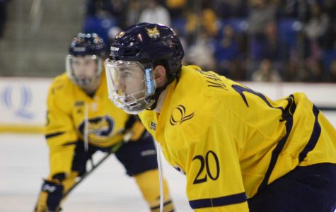 Men's hockey coughs up 3-0 lead to Maine, falls 7-4