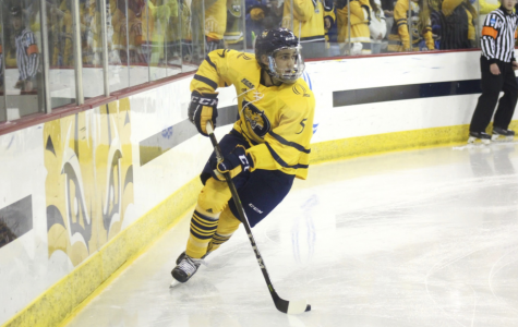 Men's hockey to face off with No. 3 Clarkson Friday