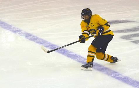 Women's hockey falls to No. 1 Clarkson on Senior Night, 2-0