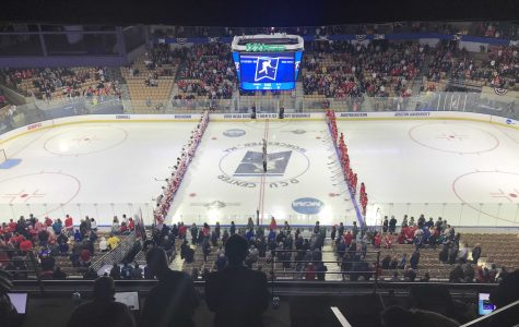 NCAA Hockey: BU continues strong play, defeats Cornell in Northeast Regional semifinal