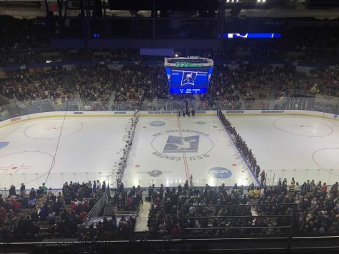 Hockey East: Providence College wins in OT, will play BU in conference championship