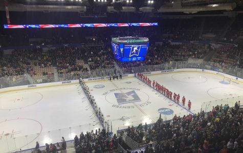 NCAA Hockey: Michigan defeats BU 6-3, advances to Frozen Four