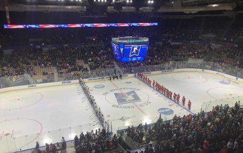 NCAA Hockey: Michigan defeats BU 6-3, advances to Frozen Four