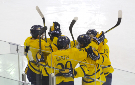 Men's hockey sweeps Yale with 4-1 win, advances to ECAC Hockey quarterfinals