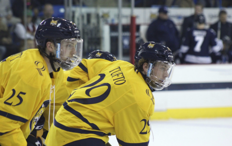 Men's hockey demolished by Cornell in game one of quarterfinals, 9-1