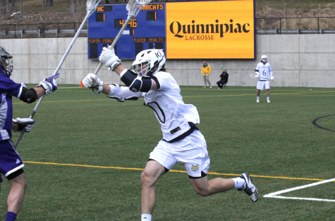 Men's lacrosse holds off Manhattan's offense to win 9-4