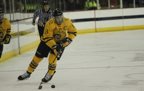 Men's Ice Hockey Wins Thriller Against No. 18 Boston College, 1-0