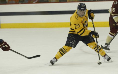 Men's Ice Hockey Drops First Game of the Season to Dartmouth